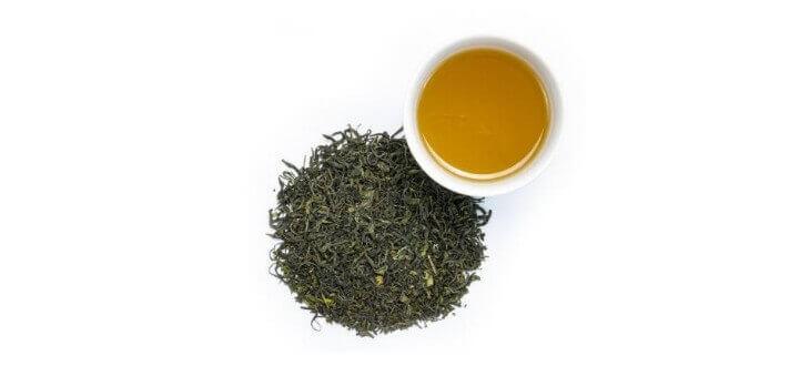 Zielona herbata z działaniem flawnoidów